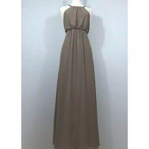 Show Me Your Mumu Dune Brown Amanda Maxi Dress-S